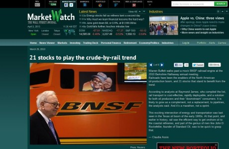Market Watch March 25 2013